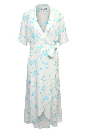 Женское платье из вискозы GANNI разноцветного цвета, арт. F5731 | Фото 1