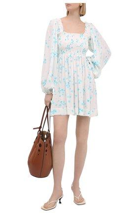 Женское платье из вискозы GANNI разноцветного цвета, арт. F5734 | Фото 2