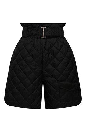 Женские шорты GANNI черного цвета, арт. F5813 | Фото 1