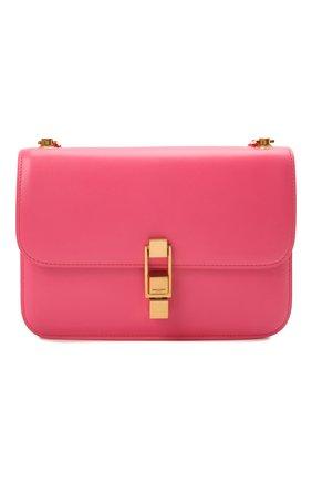 Женская сумка carre SAINT LAURENT розового цвета, арт. 633214/1YF0W   Фото 1