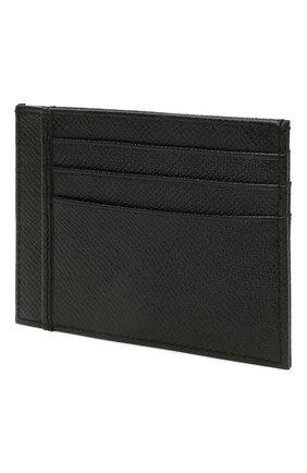 Мужской кожаный футляр для кредитных карт BOSS черного цвета, арт. 50452087   Фото 2