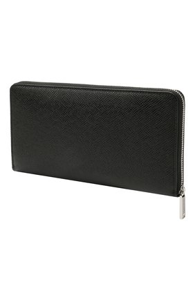 Мужской кожаное портмоне BOSS черного цвета, арт. 50452057 | Фото 2