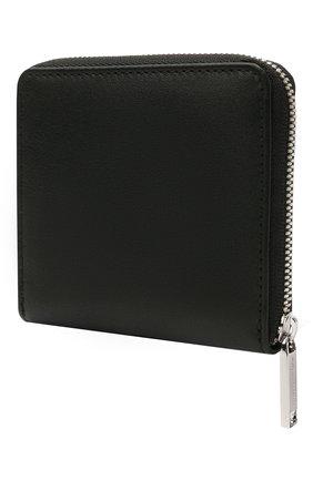 Мужской кожаное портмоне BOSS черного цвета, арт. 50451675   Фото 2