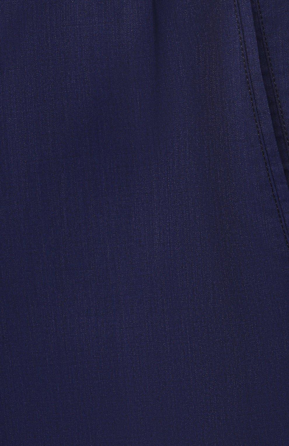 Мужские кашемировые брюки MARCO PESCAROLO синего цвета, арт. CHIAIAM/4334   Фото 5 (Big sizes: Big Sizes; Материал внешний: Шерсть, Кашемир; Длина (брюки, джинсы): Стандартные; Случай: Повседневный; Стили: Кэжуэл)