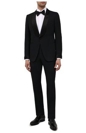 Мужские кожаные оксфорды MAGNANNI черного цвета, арт. 21225/CHAR0L | Фото 2