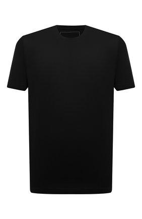 Мужская хлопковая футболка MARCO PESCAROLO черного цвета, арт. JAMES/4363 | Фото 1