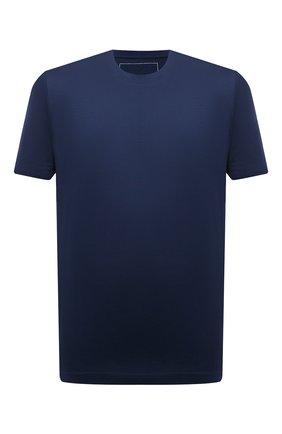 Мужская хлопковая футболка MARCO PESCAROLO синего цвета, арт. JAMES/4363 | Фото 1
