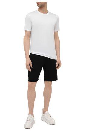 Мужская хлопковая футболка MARCO PESCAROLO белого цвета, арт. JAMES/4363 | Фото 2