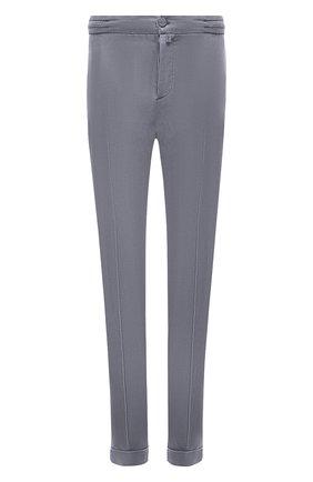 Мужские брюки KITON серого цвета, арт. UFPLACJ07T37 | Фото 1