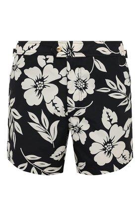 Мужские плавки-шорты TOM FORD черно-белого цвета, арт. BW655/TFB450 | Фото 1
