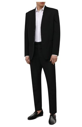 Мужские лоферы lewis special GIUSEPPE ZANOTTI DESIGN разноцветного цвета, арт. EU10000/001 | Фото 2 (Материал внутренний: Натуральная кожа; Стили: Классический; Мужское Кросс-КТ: Вечерняя обувь)