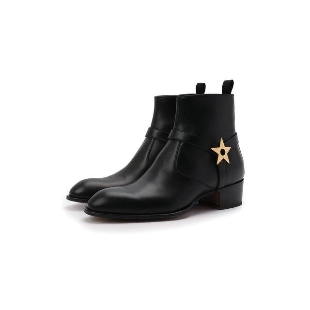 Кожаные сапоги Sheldon Star Giuseppe Zanotti Design