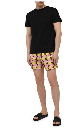 Мужские кожаные шлепанцы brett GIUSEPPE ZANOTTI DESIGN черного цвета, арт. RM00008/004 | Фото 2 (Материал внутренний: Натуральная кожа)