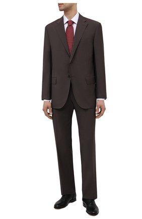 Мужские кожаные оксфорды MORESCHI черного цвета, арт. 90042166/NICE | Фото 2