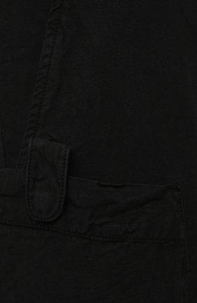 Мужские джоггеры ASPESI черного цвета, арт. S1 A CP19 G435   Фото 5 (Длина (брюки, джинсы): Стандартные; Материал внешний: Синтетический материал; Стили: Гранж; Силуэт М (брюки): Джоггеры)