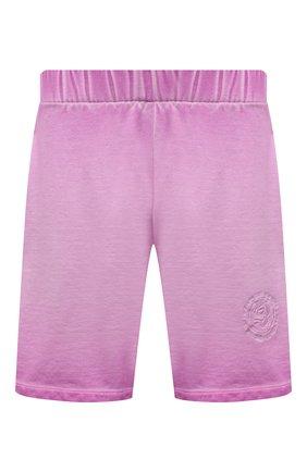 Мужские хлопковые шорты OPENING CEREMONY розового цвета, арт. YMCI001S21FLE001 | Фото 1