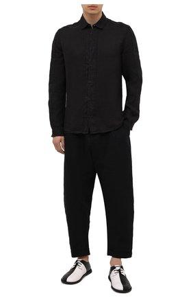 Мужские кожаные дерби MARSELL черно-белого цвета, арт. MMG545/PELLE VITELL0 | Фото 2