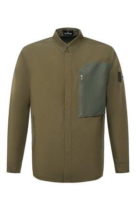 Мужская куртка STONE ISLAND SHADOW PROJECT хаки цвета, арт. 741910102   Фото 1