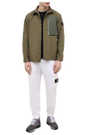 Мужская куртка STONE ISLAND SHADOW PROJECT хаки цвета, арт. 741910102   Фото 2
