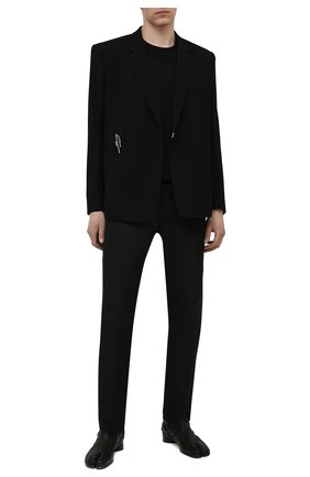 Мужская хлопковая футболка GIVENCHY черного цвета, арт. BM712P3Y6B | Фото 2