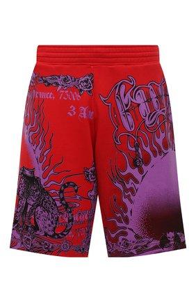 Мужские хлопковые шорты GIVENCHY красного цвета, арт. BM50TZ3Y6A | Фото 1
