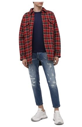 Мужские джинсы PT TORINO голубого цвета, арт. 211-C5 TJ05B20BAS/CA35 | Фото 2