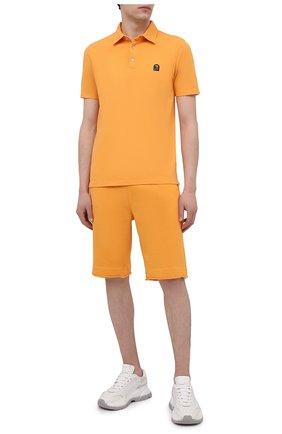 Мужские хлопковые шорты PARAJUMPERS оранжевого цвета, арт. CF06/C0LT0N | Фото 2