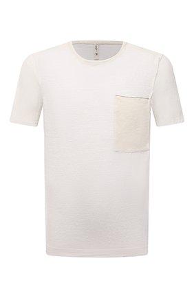 Мужская футболка TRANSIT белого цвета, арт. CFUTRN4391 | Фото 1