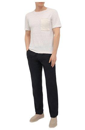 Мужская футболка TRANSIT белого цвета, арт. CFUTRN4391 | Фото 2