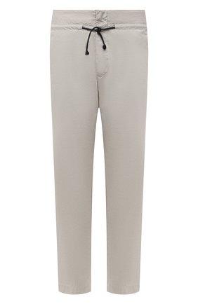 Мужские хлопковые брюки TRANSIT бежевого цвета, арт. CFUTRNB111 | Фото 1