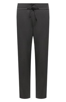 Мужские хлопковые брюки TRANSIT темно-серого цвета, арт. CFUTRNB111 | Фото 1