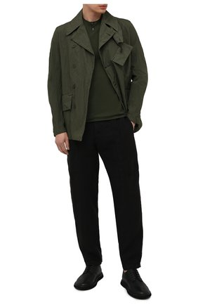 Мужская куртка TRANSIT хаки цвета, арт. CFUTRNP252 | Фото 2