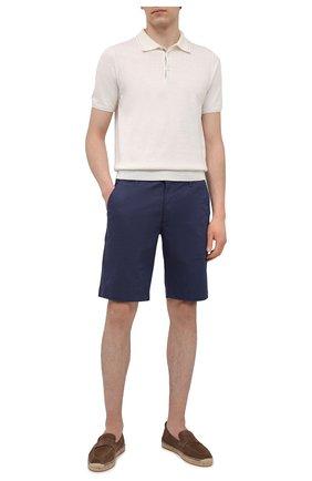 Мужские хлопковые шорты AG синего цвета, арт. 1185SUBP/JDBING/MX | Фото 2