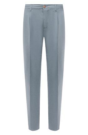 Мужские хлопковые брюки ALTEA голубого цвета, арт. 2153022 | Фото 1