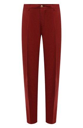 Мужские хлопковые брюки ALTEA красного цвета, арт. 2153022 | Фото 1