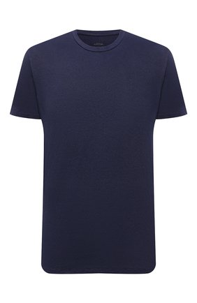 Мужская льняная футболка ALTEA темно-синего цвета, арт. 2155219 | Фото 1