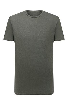 Мужская льняная футболка ALTEA хаки цвета, арт. 2155219 | Фото 1