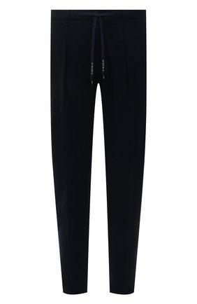 Мужские хлопковые брюки CIRCOLO 1901 темно-синего цвета, арт. CN2939 | Фото 1