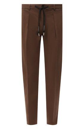 Мужские хлопковые брюки CIRCOLO 1901 светло-коричневого цвета, арт. CN2939 | Фото 1