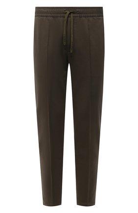 Мужские хлопковые брюки CIRCOLO 1901 хаки цвета, арт. CN2943 | Фото 1