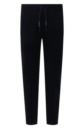 Мужские хлопковые брюки CIRCOLO 1901 темно-синего цвета, арт. CN2943 | Фото 1