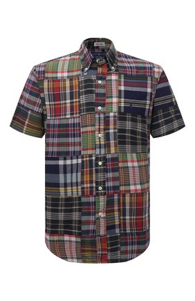 Мужская хлопковая рубашка POLO RALPH LAUREN разноцветного цвета, арт. 710837272/4624 | Фото 1