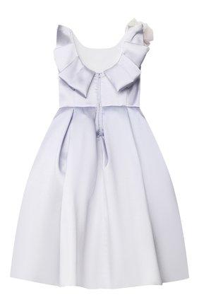 Детское платье MONNALISA светло-сиреневого цвета, арт. 777901 | Фото 2