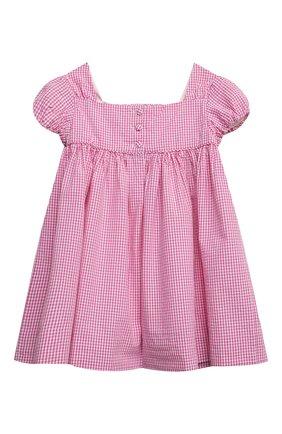 Женский комплект из платья и шорт POLO RALPH LAUREN розового цвета, арт. 310834831 | Фото 3