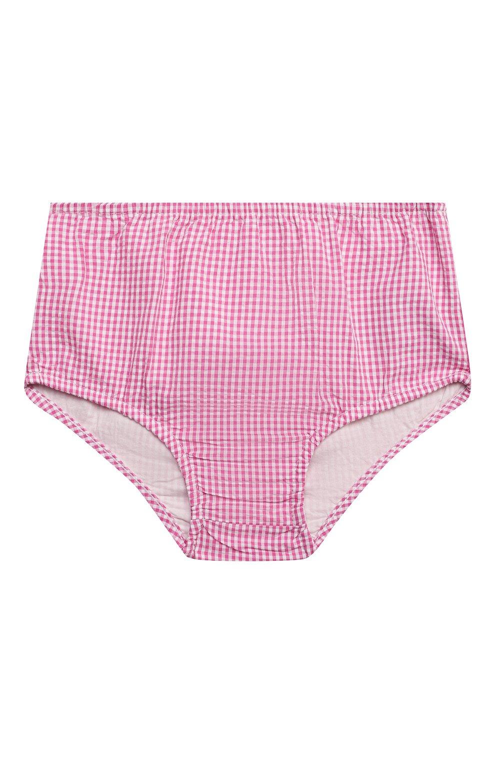Женский комплект из платья и шорт POLO RALPH LAUREN розового цвета, арт. 310834831 | Фото 5