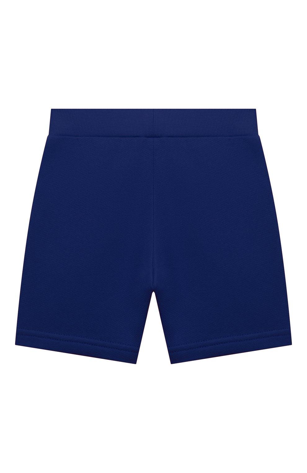 Детские шорты EMPORIO ARMANI синего цвета, арт. 3KHSJ3/4J4IZ   Фото 2