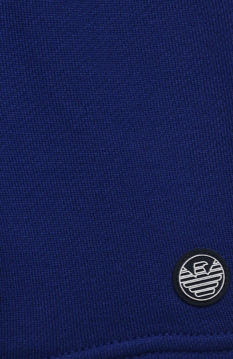 Детские шорты EMPORIO ARMANI синего цвета, арт. 3KHSJ3/4J4IZ   Фото 3