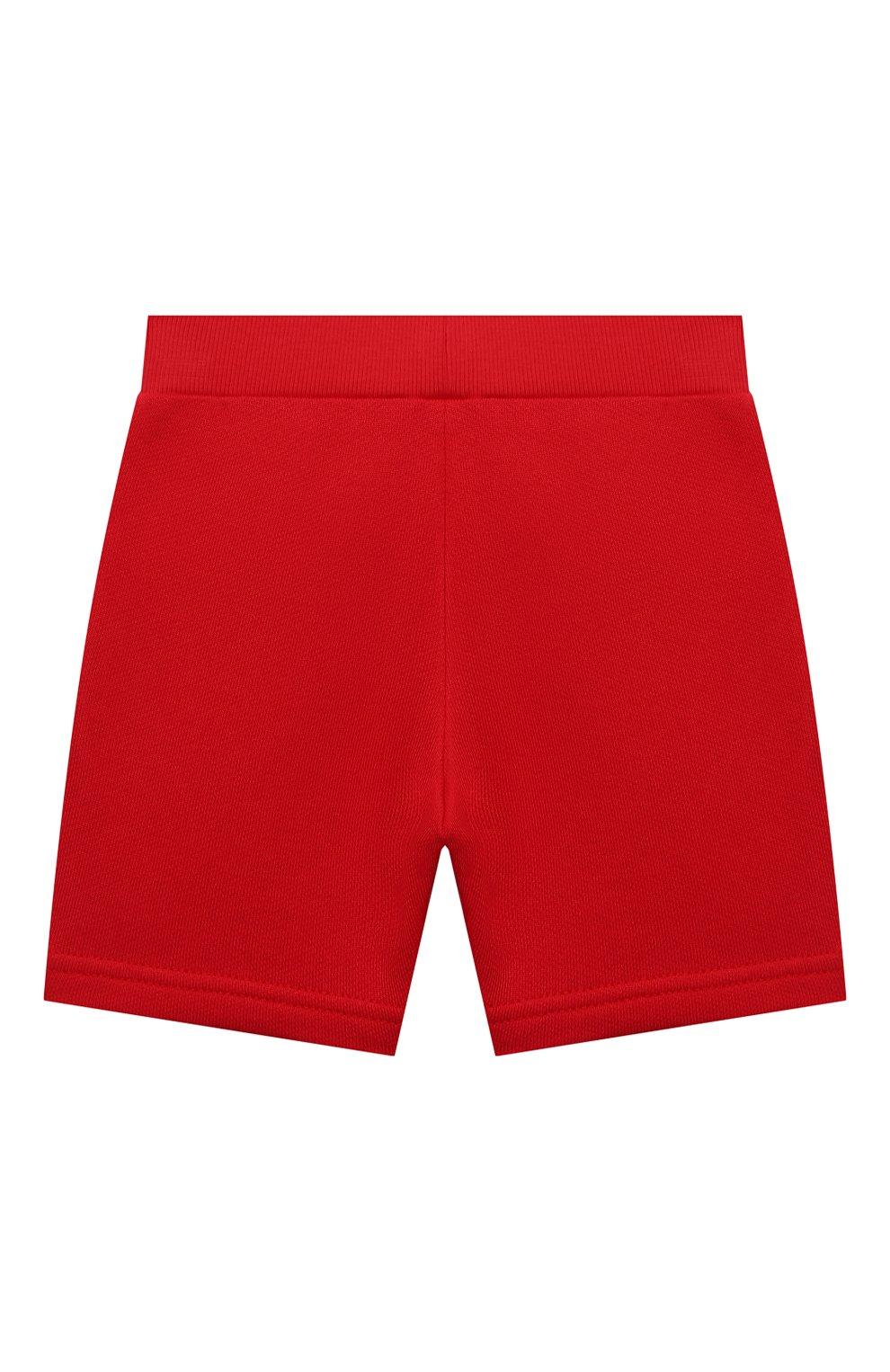 Детские шорты EMPORIO ARMANI красного цвета, арт. 3KHSJ3/4J4IZ   Фото 2