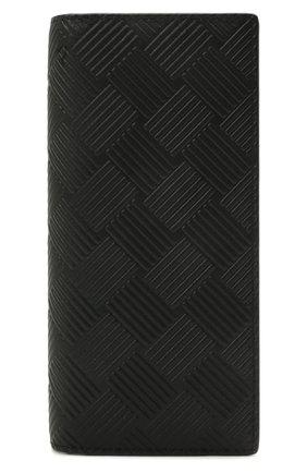 Мужской кожаное портмоне BOTTEGA VENETA черного цвета, арт. 649882/V0SQ1 | Фото 1