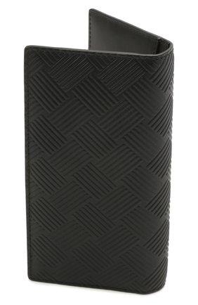 Мужской кожаное портмоне BOTTEGA VENETA черного цвета, арт. 649882/V0SQ1 | Фото 2